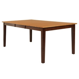Stettler Cappuccino Solid Wood Dining Table
