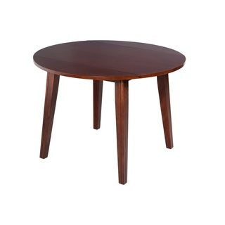 Caroline Drop-Leaf Dining Table In Espresso