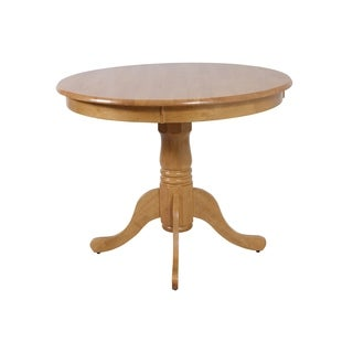 Kimberley Solid Wood Dining Table In Oak