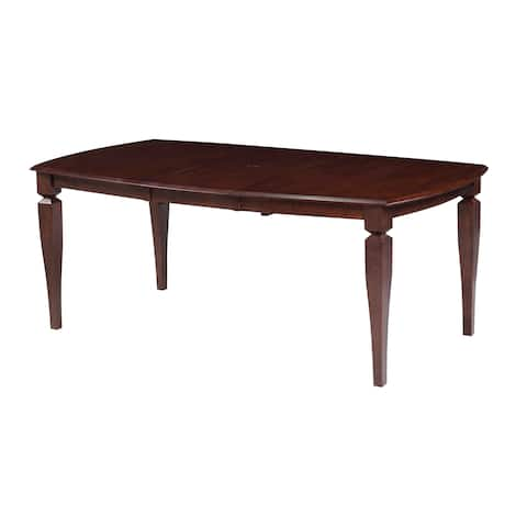 Victoria Solid Wood Dining Table In Espresso