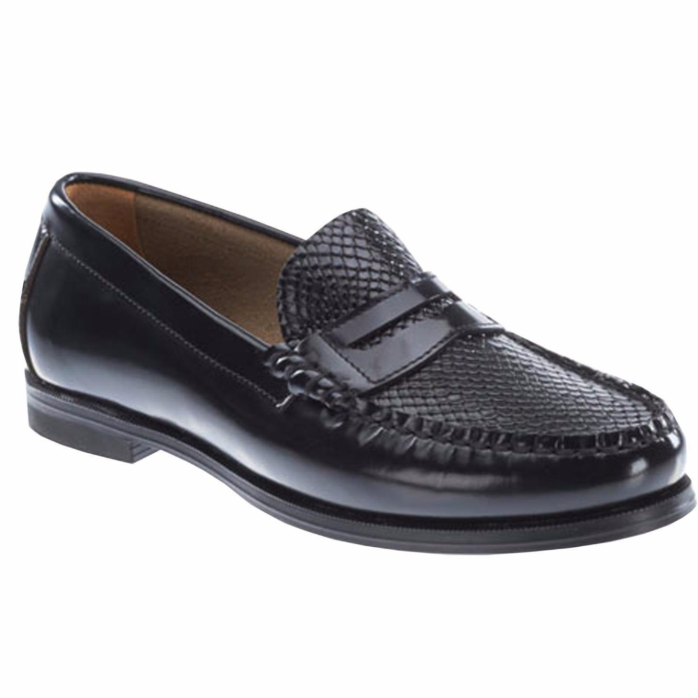 Sebago Women's Plaza II Penny Loafer Shoe Smooth and Embo...