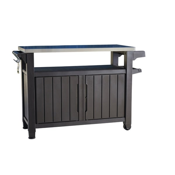 Shop Keter Unity Xl Indoor Outdoor Serving Cart Prep