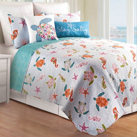 St. Kitts Cotton Quilt Set