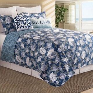 Capr Coral Cotton Quilt Set