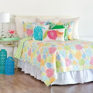 Palm Beach Cotton Quilt Set