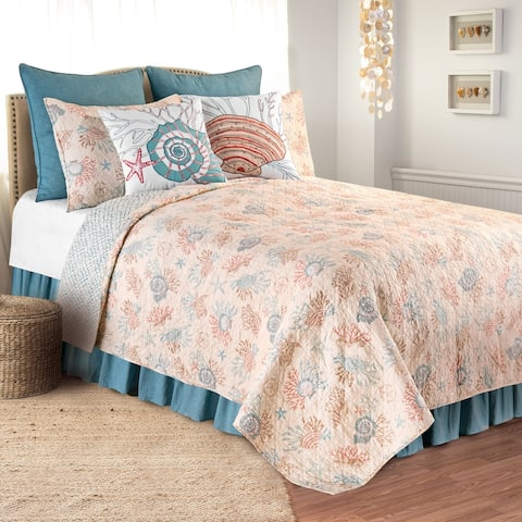 Seabrook Coastal Quilt Set