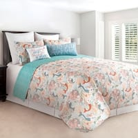 Dancing Waters Cotton Quilt Set
