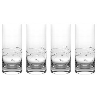 Barski Handmade Hiball Glass (Set of 4)