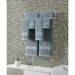 VCNY Home Classic Dobby 100-percent Cotton 6-piece Bath Towel Set