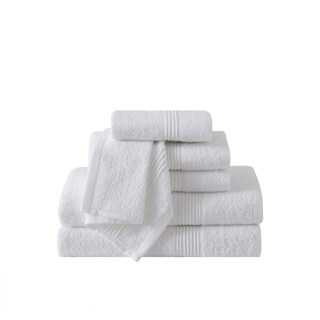 VCNY Home Ribbed 6-piece 100-percent Cotton Bath Towel Set (Option: Ivory)|https://ak1.ostkcdn.com/images/products/17857314/P24044425.jpg?_ostk_perf_=percv&impolicy=medium