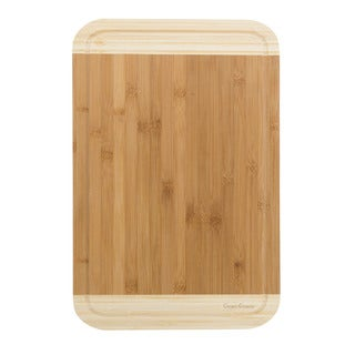 Classic Cuisine Two Tone Bamboo Cutting Board