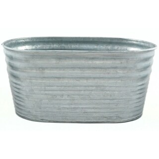 Galvanized Tin Oblong Container