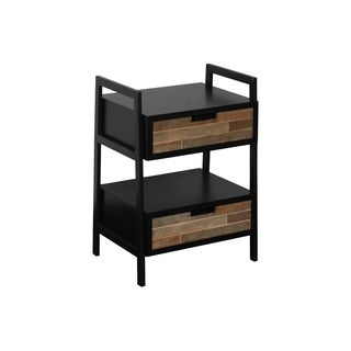 Urban Trends Collection UTC31026 Coated Black Finish Metal Table