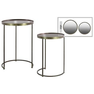 Urban Trends Collection Metallic Black Metal Table