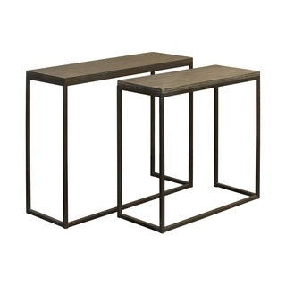 Urban Trends Collection UTC37088 Grey Washed Finish Wood Table