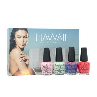 OPI Little Hulas 4-piece Mini Nail Lacquer Set