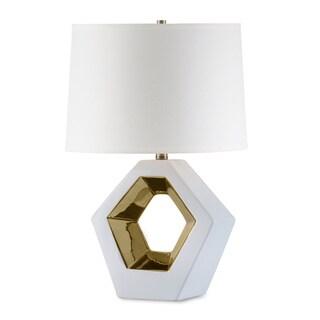 Nova Lighting Zone Reclining Gold Table Lamp