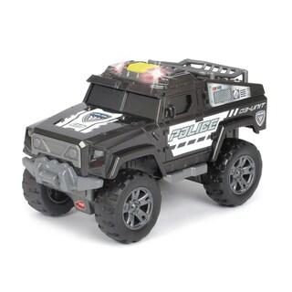 Light and Sound Motorized Police Unit Vehicle