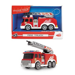 Dickie Toys Mini Action Fire Truck Vehicle
