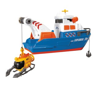 Dickie Toys Large Action Explorer Boat