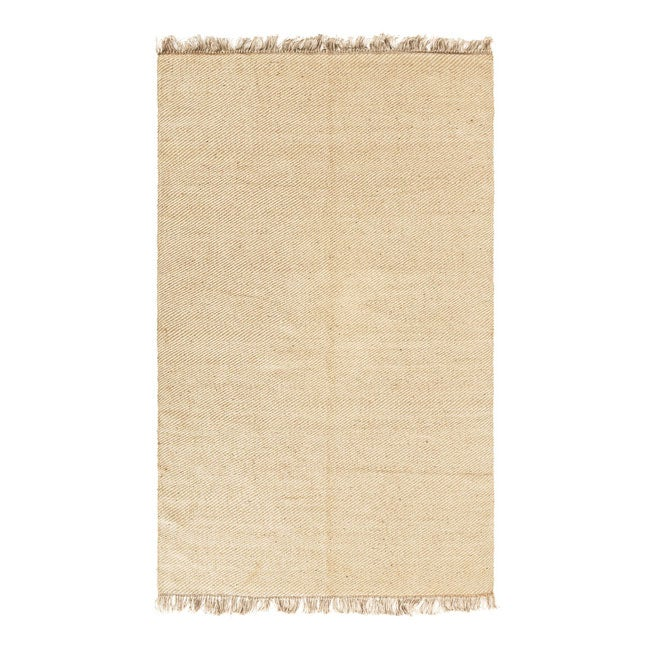 Handmade Natural Jute Flatweave Rug (8' x 10') - 8' x 10'