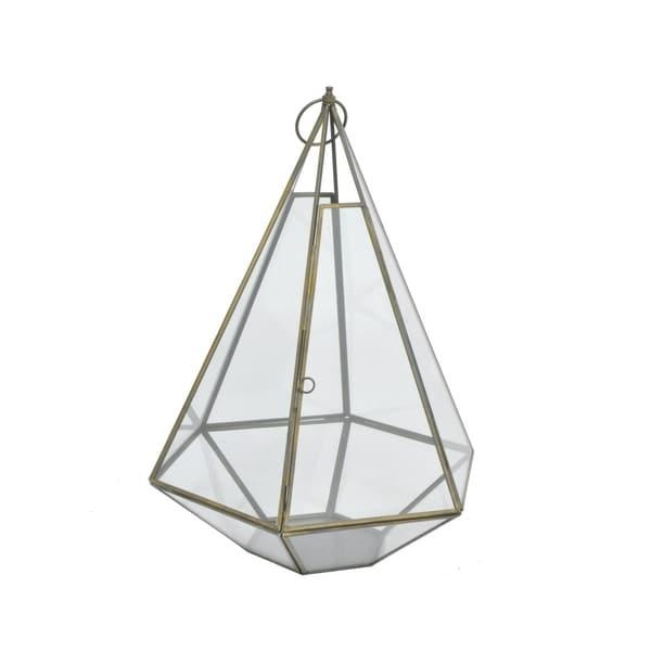 Metal/Glass Terrarium -Antq. B