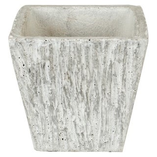 Hand Crafted Grey Ceramic Planter