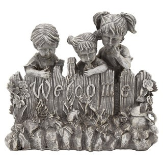 3 Kids-Welcome Sign