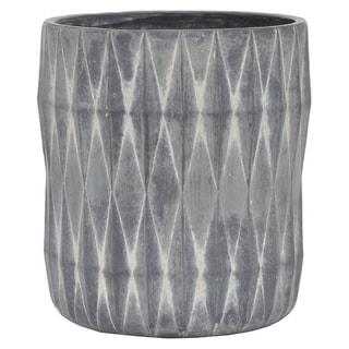 Marble Look Flower Pot