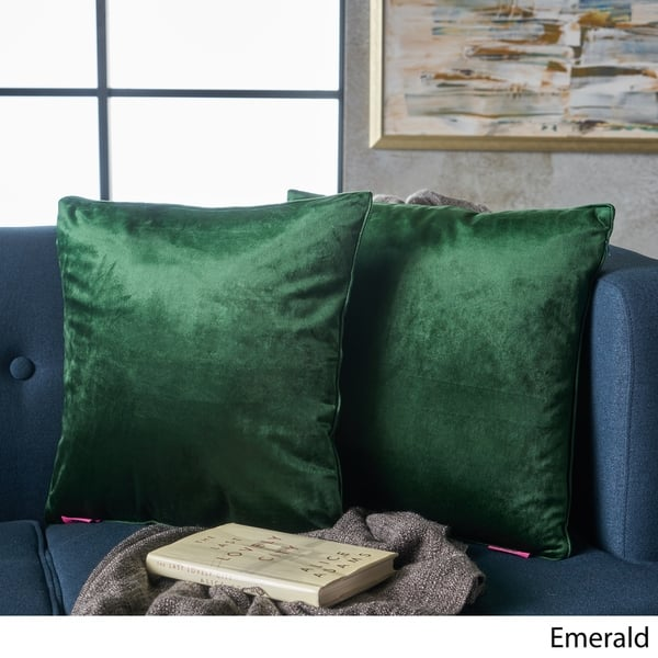 Stupendous Shop Ippolito New Velvet Pillows Set Of 2 By Christopher Alphanode Cool Chair Designs And Ideas Alphanodeonline