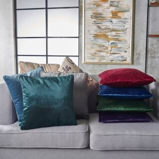 Ippolito New Velvet Pillows (Set of 2) by Christopher Knight Home|https://ak1.ostkcdn.com/images/products/17877719/P24063418.jpg?impolicy=medium