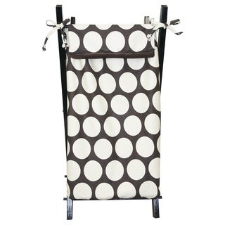 Cotton Tale Designs Chocolate and Cream Dot Hamper