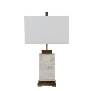 Privilege 150-watt 3-way Marble Table Lamp
