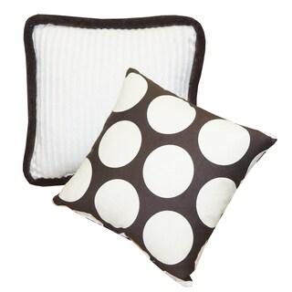 Cotton Tale Designs Jayden Chocolate Big Dot Décor Pillows