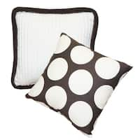Cotton Tale Designs Jayden Chocolate Big Dot Décor Pillows