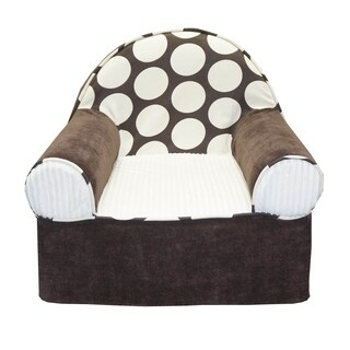 Cotton Tale Designs Chocolate and Cream Dot Baby's 1st Chair