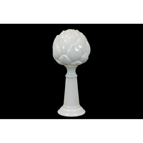 UTC45009 Ceramic Figurine Gloss Finish White