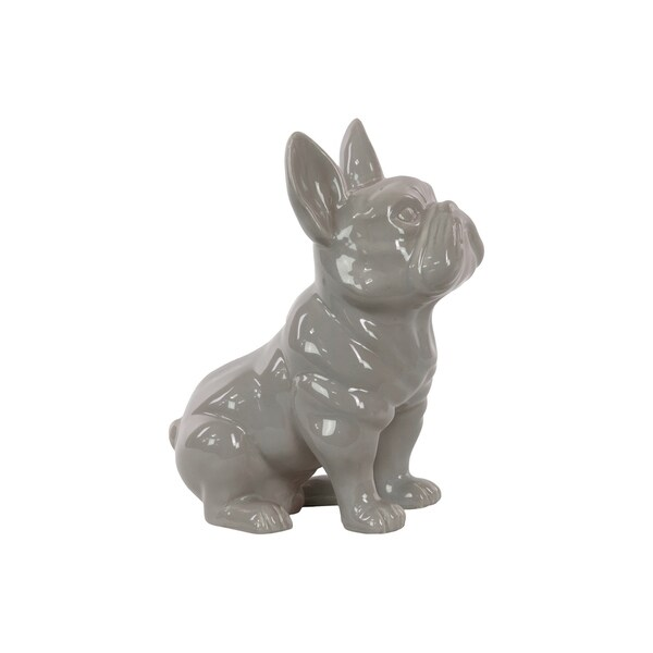 UTC38486 Ceramic Figurine Gloss Finish Gray