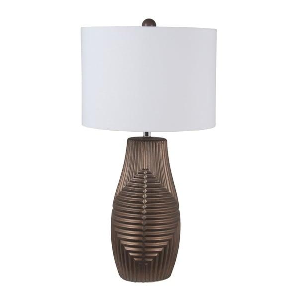 45W Ceramic Table Lamp - Bronze