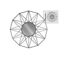UTC16007 Metal Mirror Metallic Finish Gray