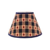 Somette Star Spangled 14 inch Empire Lamp Shade with Uno Fitter