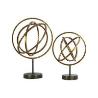 UTC39573 Metal Sculpture Metallic Finish Gold