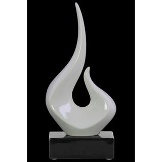 UTC14894 Ceramic Sculpture Gloss Finish Black, White