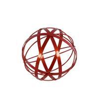 UTC52156 Metal Sculpture Coated Finish Red