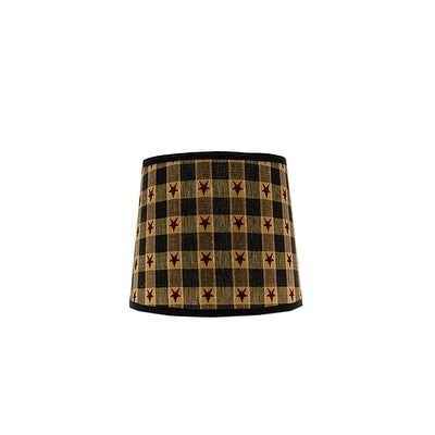 Somette Star Spangled 12 inch Drum Lamp Shade with Washer