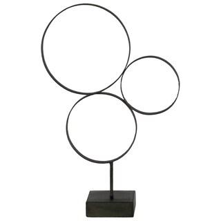 UTC39584 Metal Sculpture Metallic Finish Gray