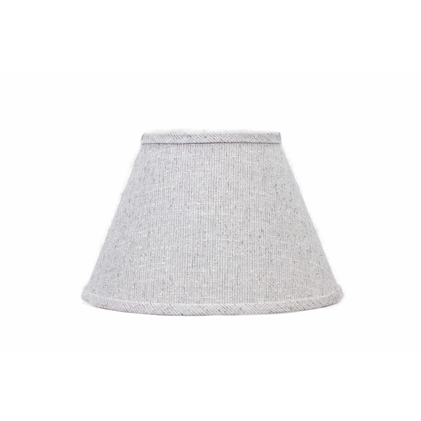 Somette Textured Brown 12 inch Empire Lamp Shade with Washer