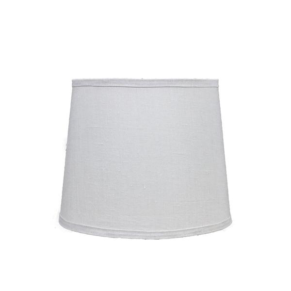 Somette Bone Linen 16 inch Drum Lamp Shade with Uno