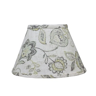 Somette Cottage Lily Greystone 16 inch Empire Lamp Shade with Washer