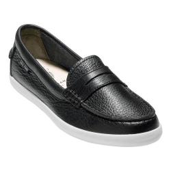 Women's Cole Haan Pinch Weekender Loafer Black/White Leather